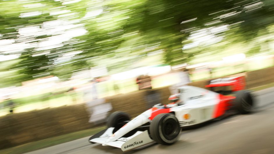 McLaren MP4/6, Goodwood Festival of Speed, 2016