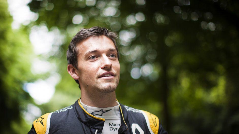 Jolyon Palmer, Renault, Goodwood Festival of Speed, 2016