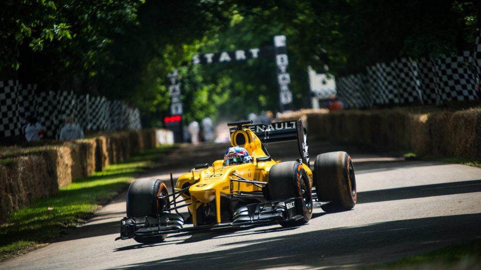 Renault (Lotus) E21, Goodwood Festival of Speed, 2016