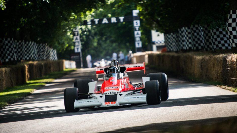 McLaren M26, Goodwood Festival of Speed, 2016