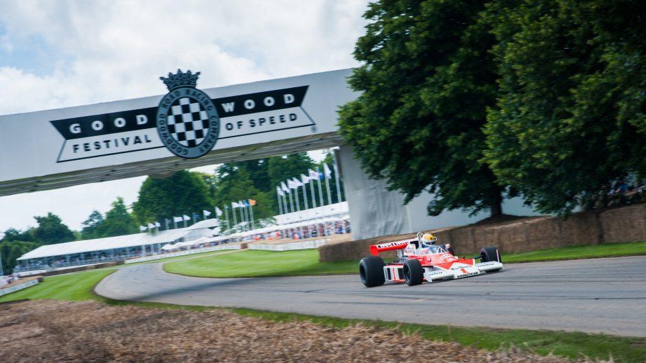 McLaren M23, Goodwood Festival of Speed, 2016