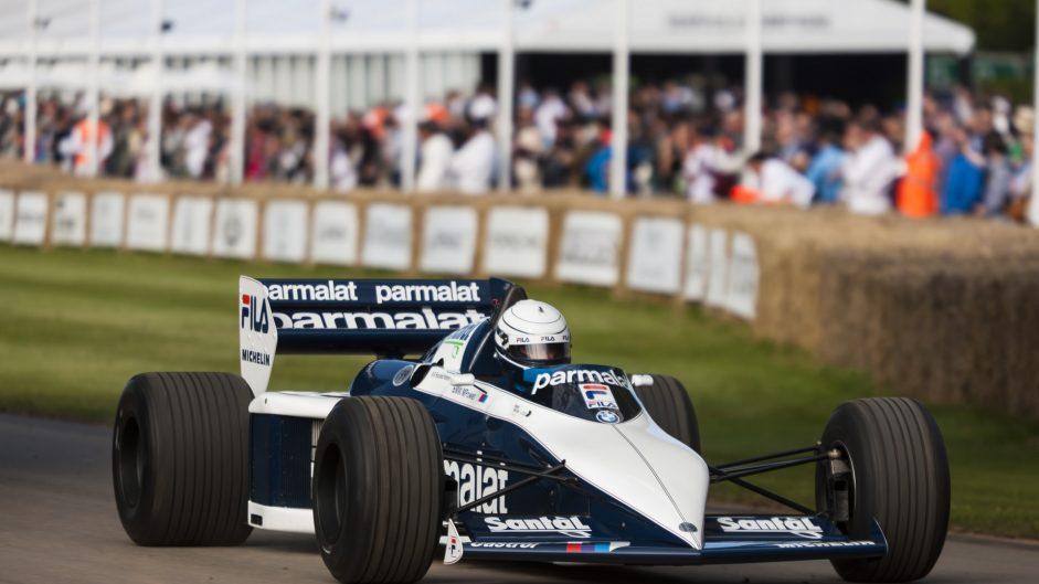 Riccardo Patrese, Brabham BT52, Goodwood Festival of Speed, 2016