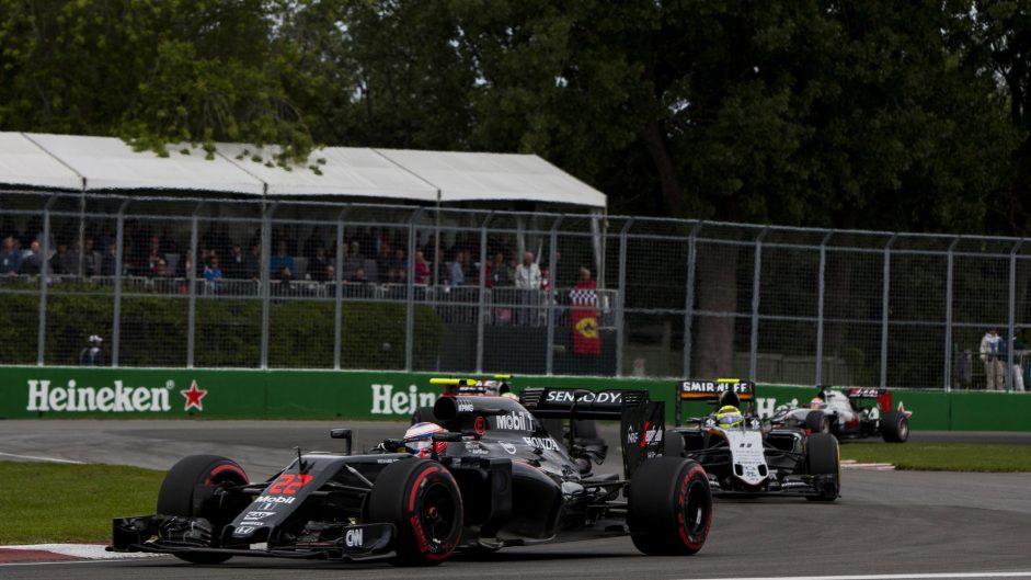 Jenson Button, McLaren, Circuit Gilles Villeneuve, 2016