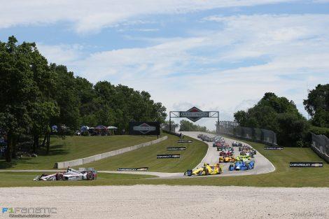 Start, Penske, IndyCar, Road America, 2016