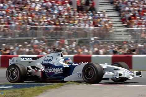 Jacques Villeneuve, BMW, Circuit Gilles Villeneuve, Montreal, 2006