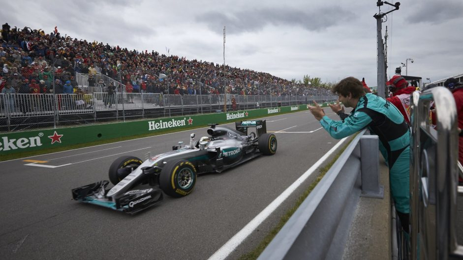 Hamilton edges Bottas for Driver of the Weekend win
