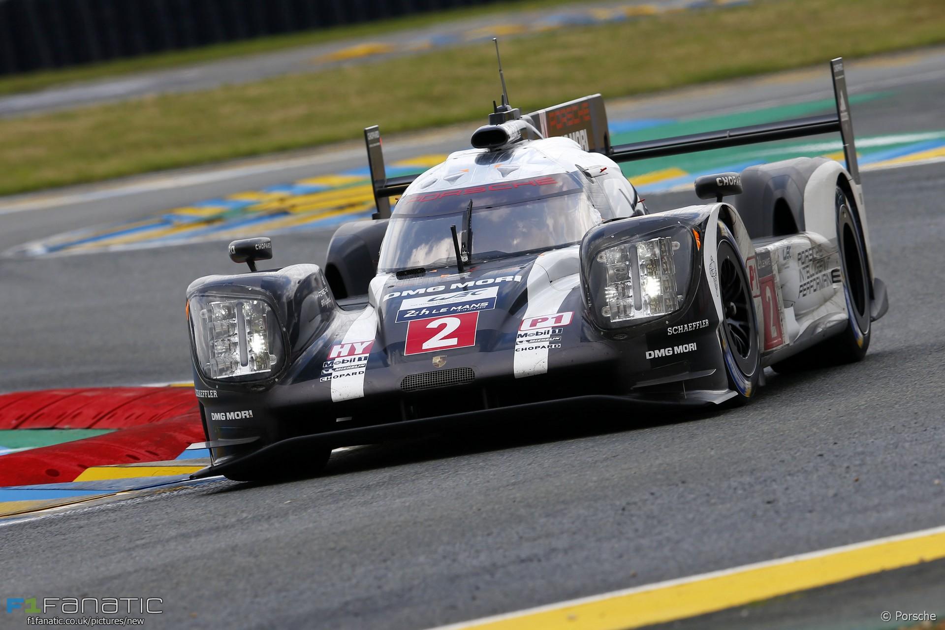 Porsche, Le Mans 24 Hours, 2016
