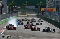 Rosberg cruises to victory in forgettable Baku debut