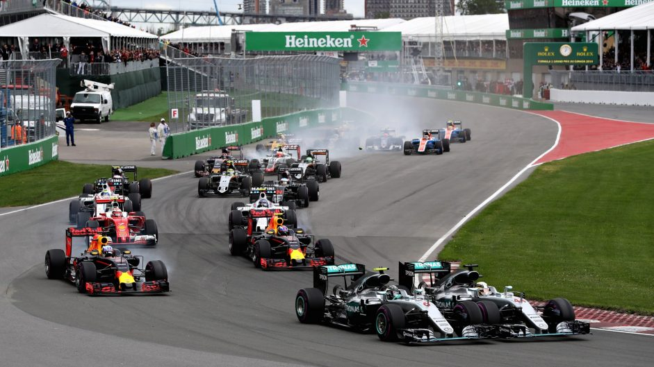 2017 Canadian Grand Prix TV Times