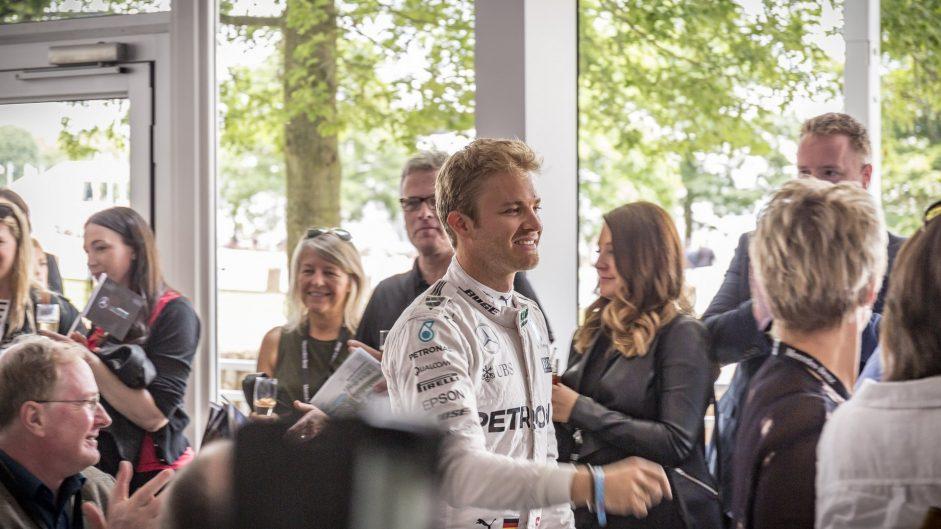 Nico Rosberg, Mercedes, Goodwood Festival of Speed, 2016