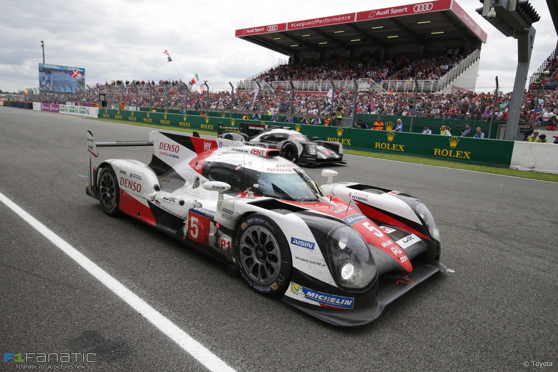 Kazuki Nakajima, Toyota, Le Mans 24 Hours, 2016