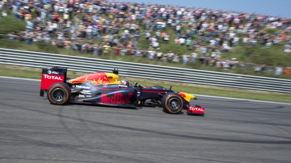 Max Verstappen, Red Bull, Zandvoort, 2016