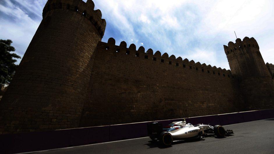 Valtteri Bottas, Williams, Baku City Circuit, 2016