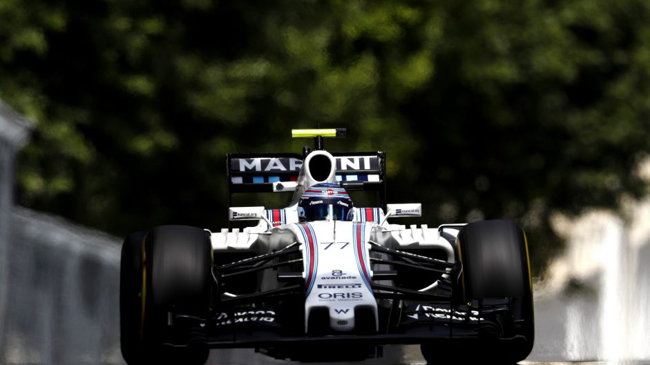 Williams hit record speeds on and off the track
