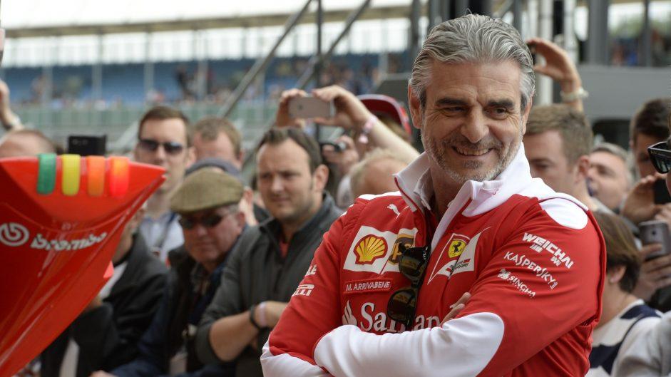 Maurizio Arrivabene, Ferrari, Silverstone, 2016