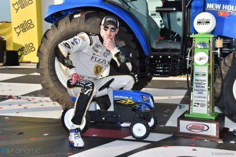 Josef Newgarden, IndyCar, Iowa, 2016