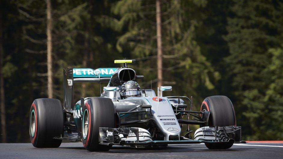 Nico Rosberg, Mercedes, Red Bull Ring, 2016