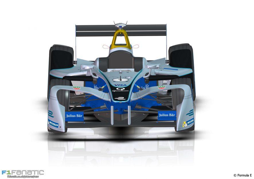 Formula E 2016-17 car