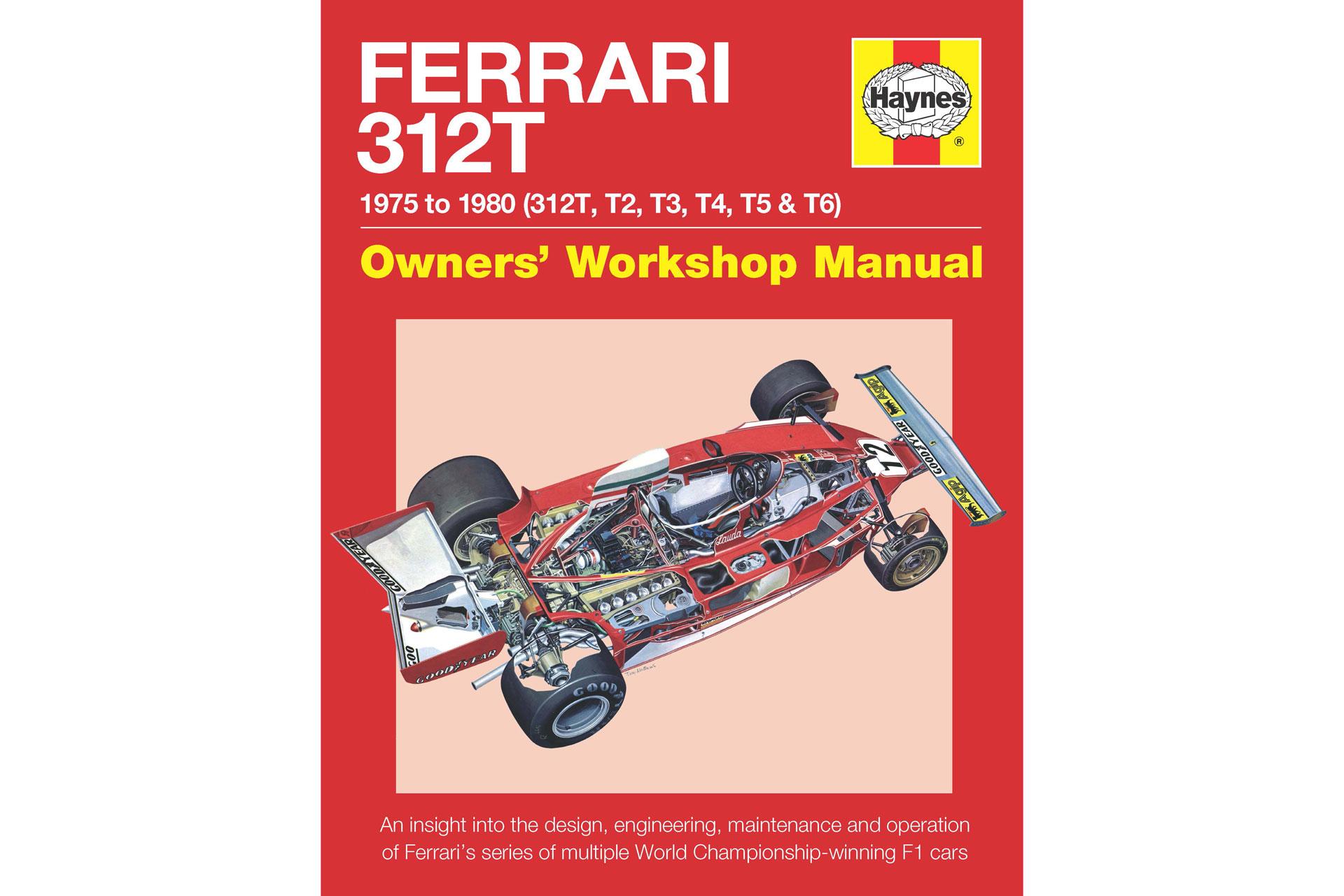 Haynes Ferrari 312T Front Cover
