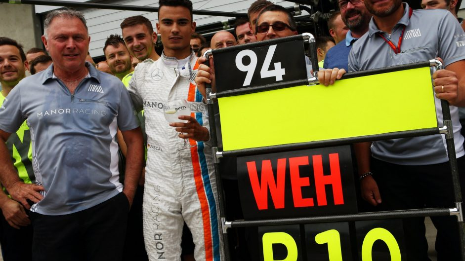 Point earns Wehrlein Driver of the Weekend win