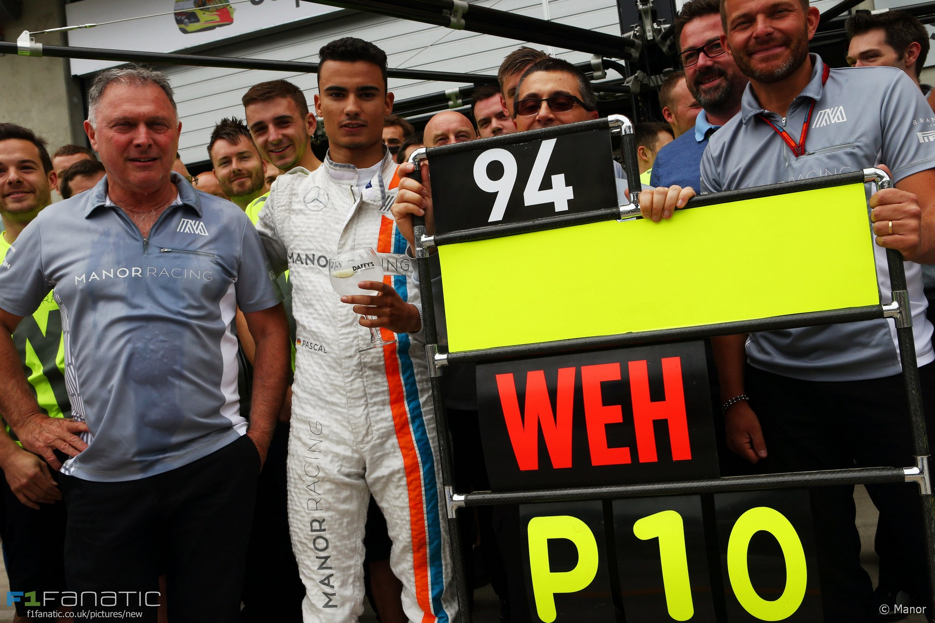 Pascal Wehrlein, Manor, Red Bull Ring, 2016