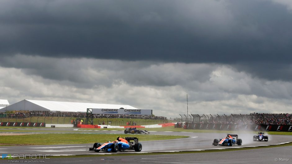 No repeat of last year's wet Silverstone race expected