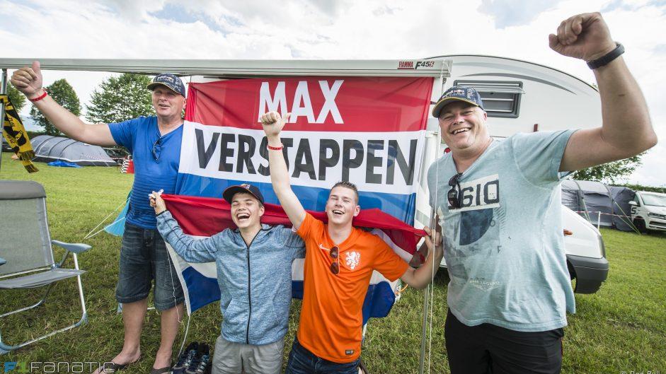 Max Verstappen fans, Red Bull, Red Bull Ring, 2016