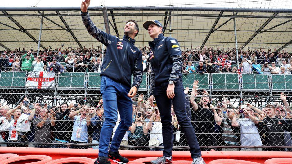 Daniel Ricciardo, Max Verstappen, Red Bull, Silverstone, 2016