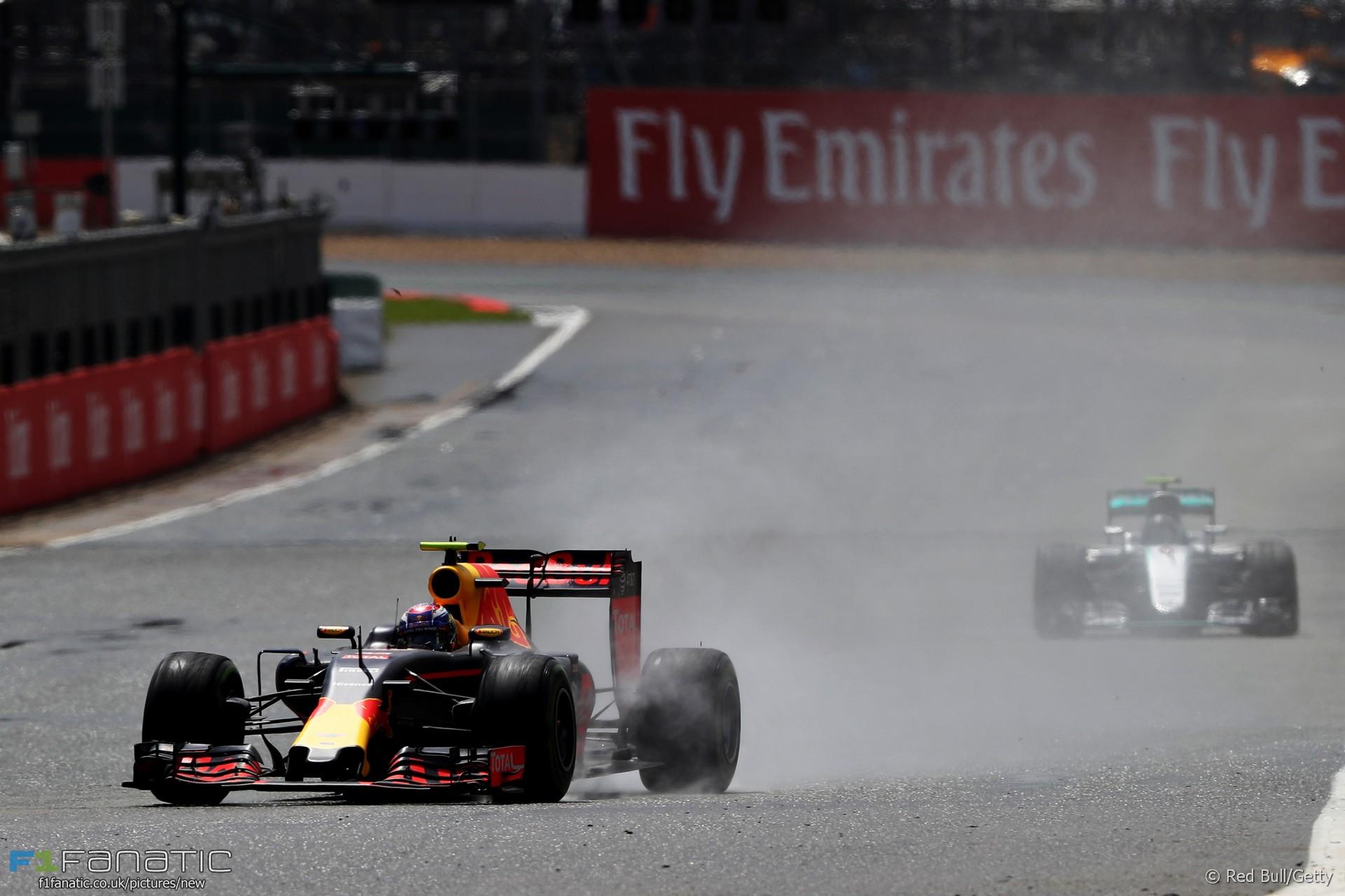 Max Verstappen, Red Bull, Silverstone, 2016