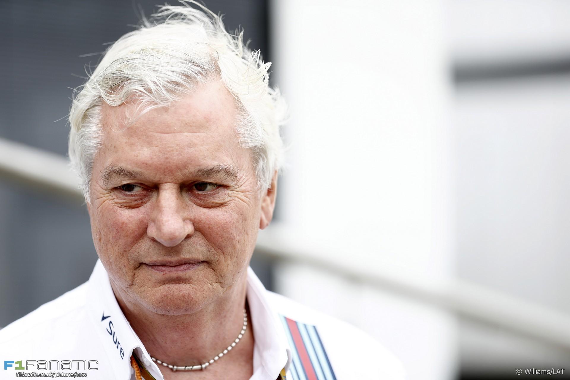 Pat Symonds, Williams, Silverstone, 2016