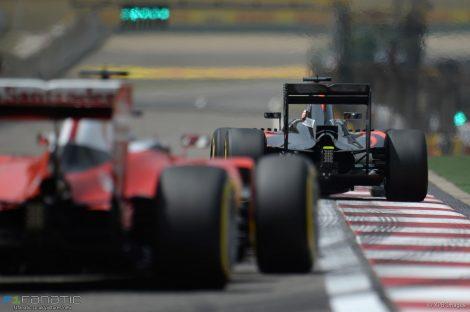Sebastian Vettel, Fernando Alonso, Shanghai International Circuit, 2016