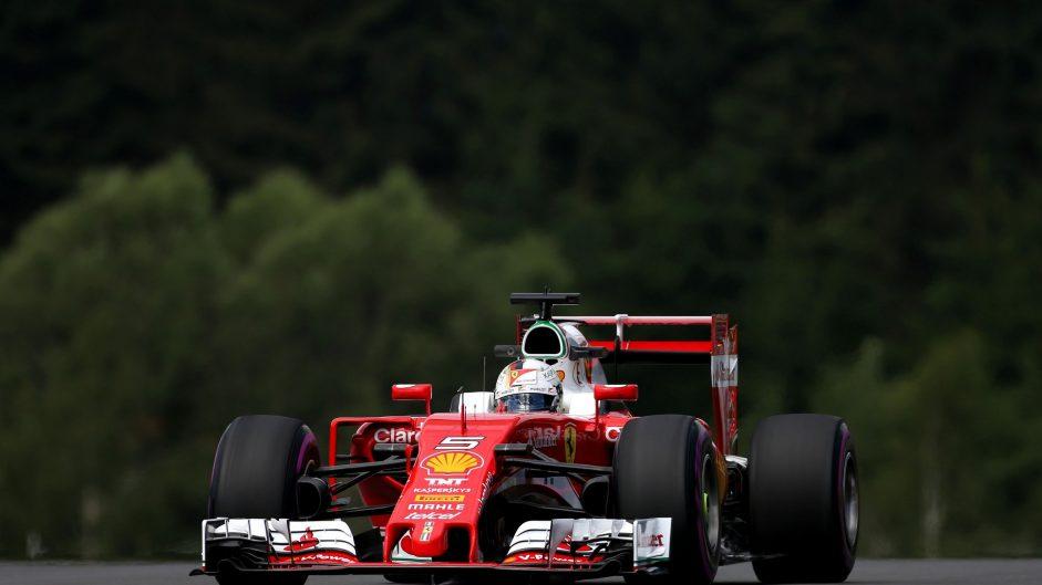 Sebastian Vettel, Ferrari, Red Bull Ring, 2016