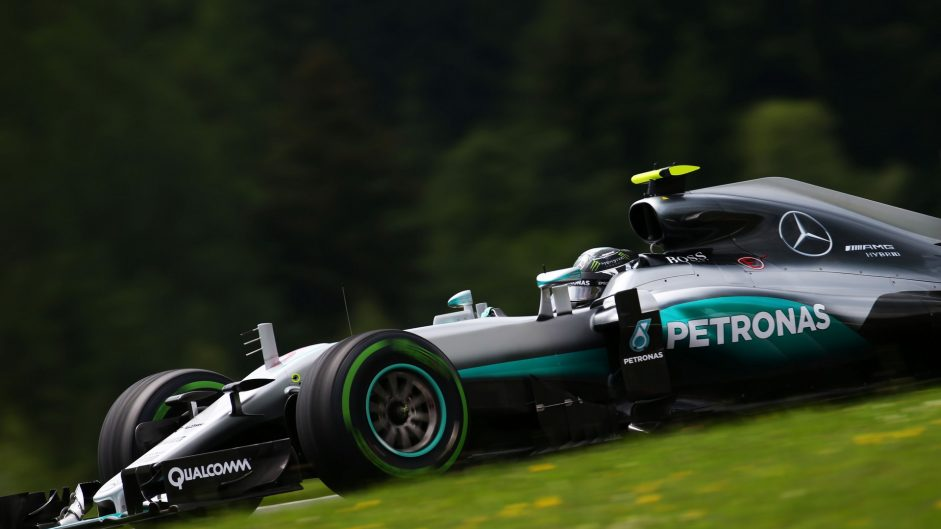 New track surface suits Mercedes, Rosberg reckons