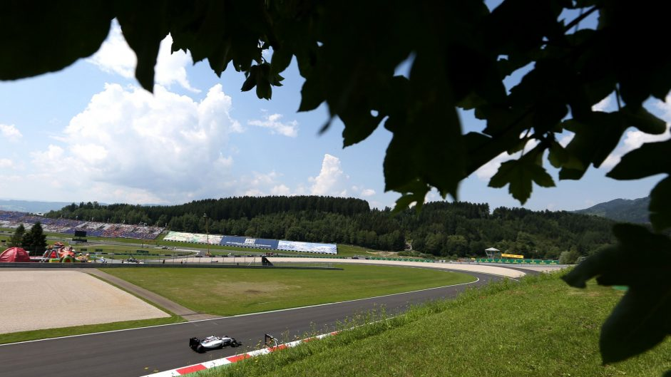 Austrian GP weekend to be dry and warm