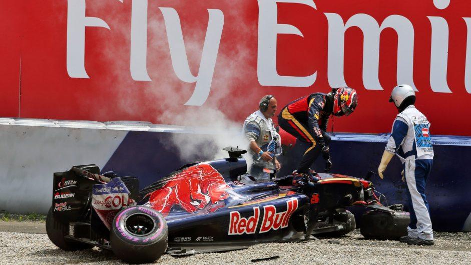 Daniil Kvyat, Toro Rosso, Red Bull Ring, 2016