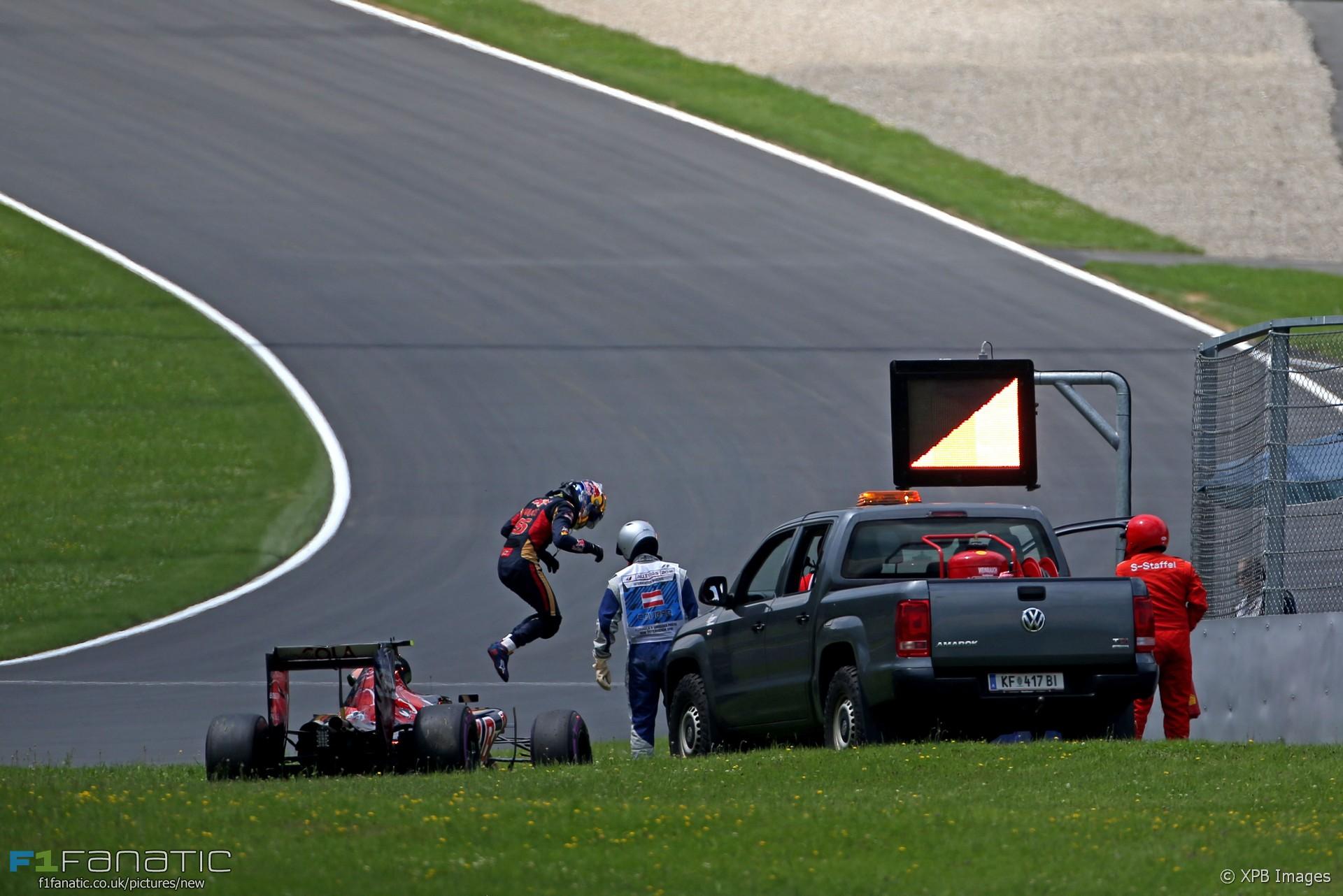 Carlos Sainz Jnr, Toro Rosso, Red Bull Ring, 2016