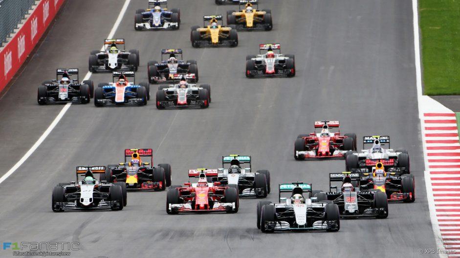 2017 Austrian Grand Prix TV Times