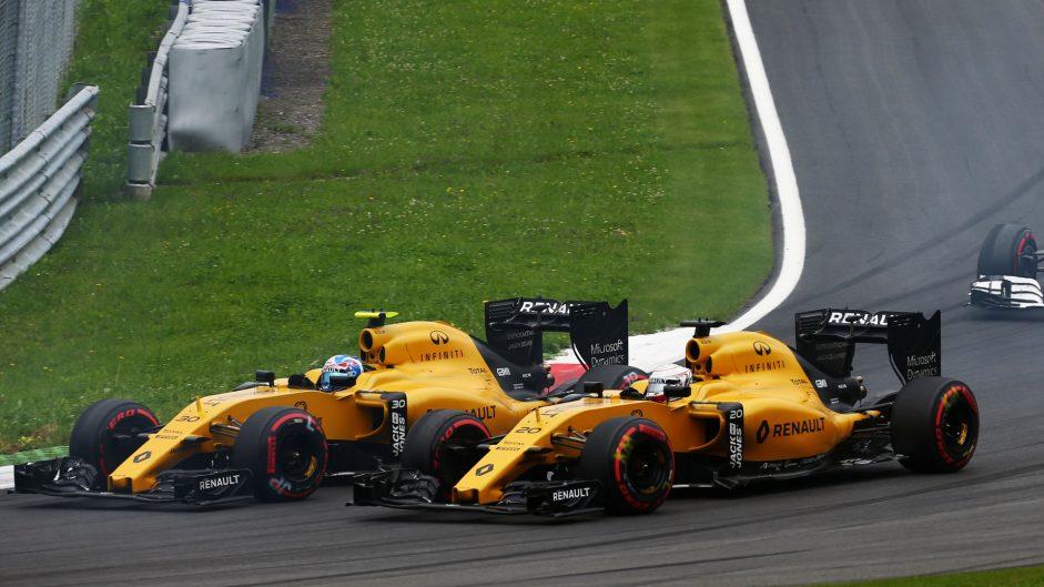 Jolyon Palmer, Renault, Red Bull Ring, 2016