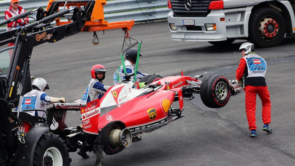 "Vettel tyre blow-out was ""isolated incident"" – Pirelli"