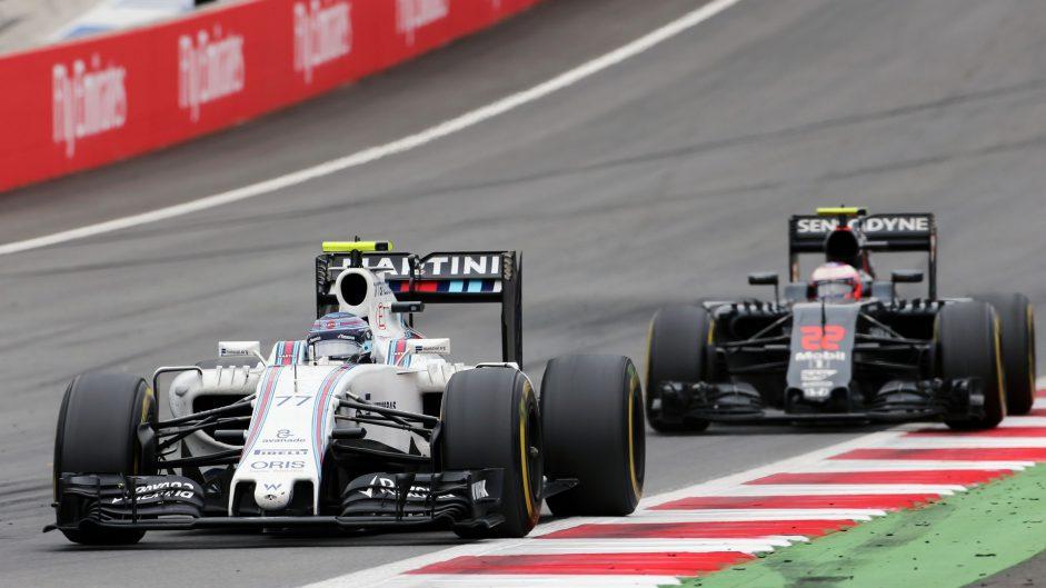 Valtteri Bottas, Williams, Red Bull Ring, 2016