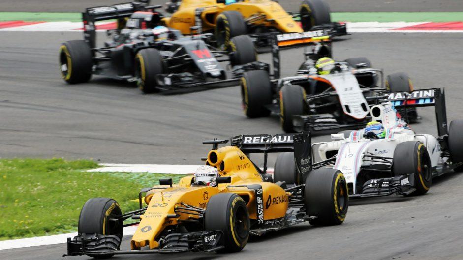 Kevin Magnussen, Renault, Red Bull Ring, 2016