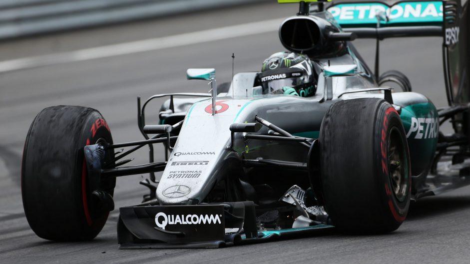 Rosberg defiant over Hamilton crash