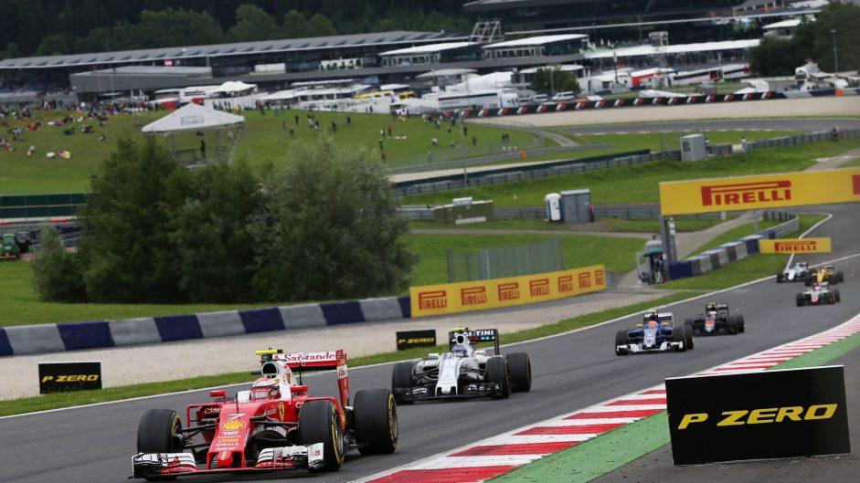 Kimi Raikkonen, Ferrari, Red Bull Ring, 2016