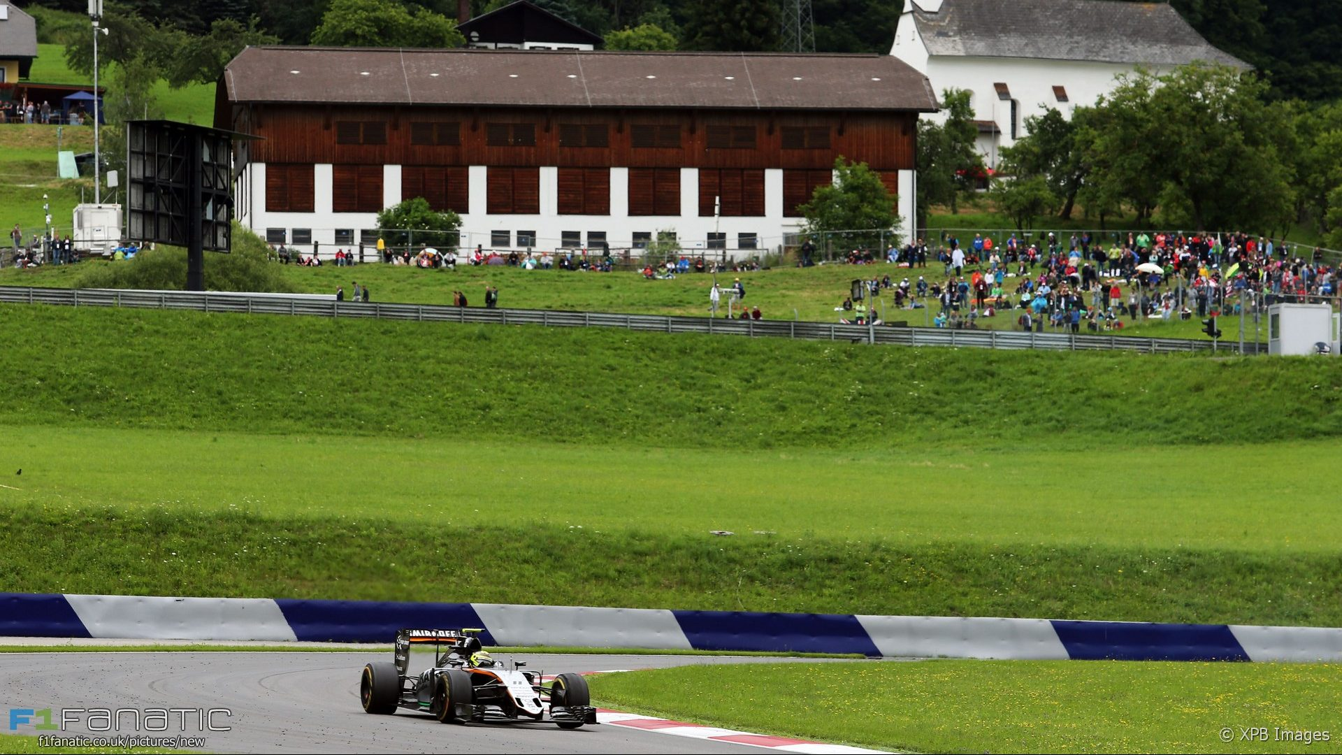 Sergio Perez, Force India, Red Bull Ring, 2016