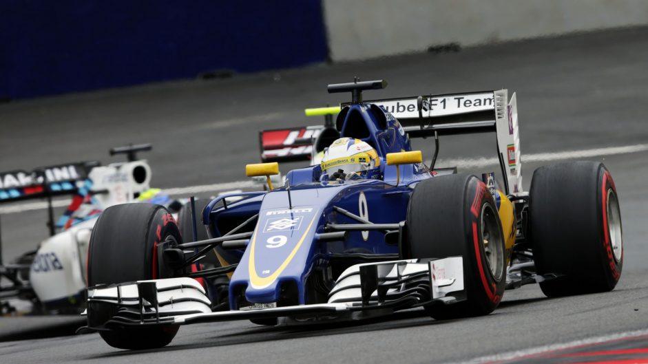 Marcus Ericsson, Sauber, Red Bull Ring, 2016