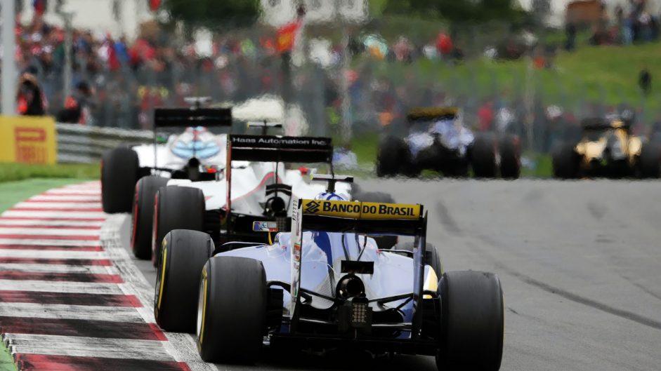 Felipe Nasr, Sauber, Red Bull Ring, 2016