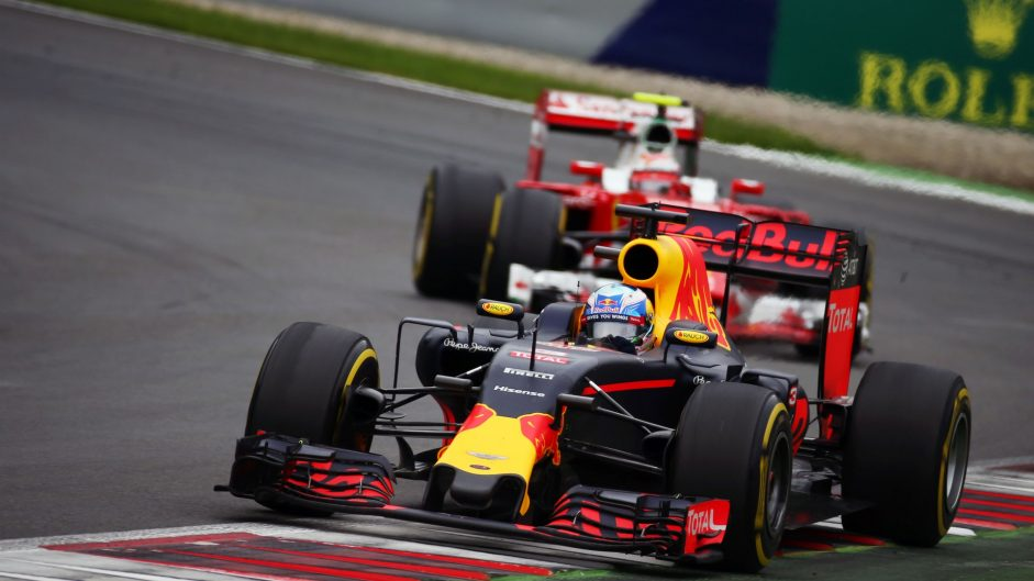 Daniel Ricciardo, Red Bull, Red Bull Ring, 2016
