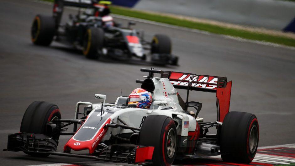 Romain Grosjean, Haas, Red Bull Ring, 2016