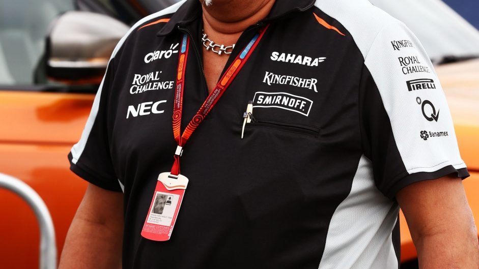 Vijay Mallya, Force India, Silverstone, 2016