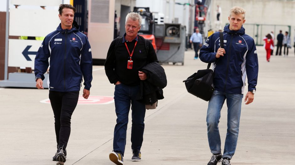 Marcus Ericsson, Sauber, Silverstone, 2016